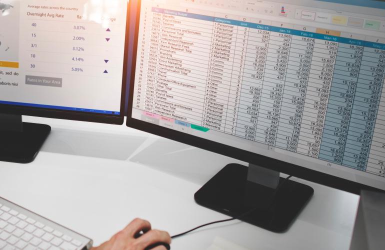 Dall'uso del foglio Excel a un prodotto come Revolution